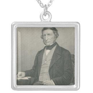 Herr George Cornewall Lewis Silverpläterat Halsband