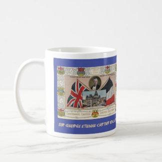 Herr George Etienne Cartier Kaffemugg