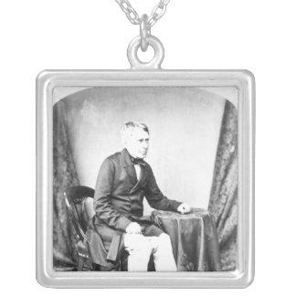 Herr George luftiga Biddell Silverpläterat Halsband