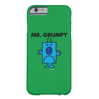 Herr Grumpy | Frowning ansikte Barely There iPhone 6 Skal