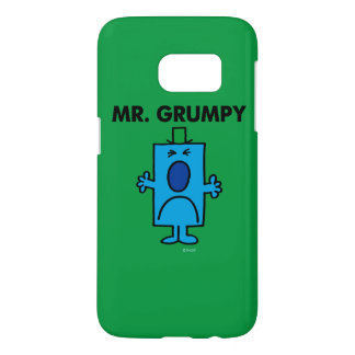 Herr Grumpy | Frowning ansikte Galaxy S5 Skal