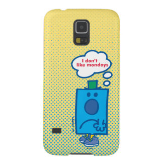 Herr Grumpy | gillar jag inte Måndagar som tanke Galaxy S5 Fodral