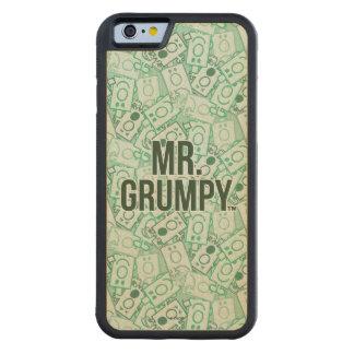 Herr Grumpy | grönt namn och teckenduggmönster