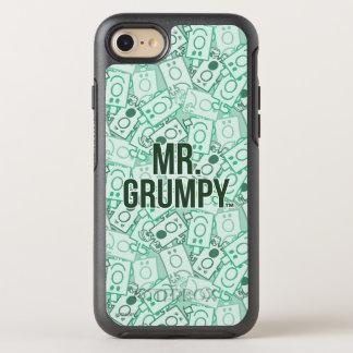 Herr Grumpy | grönt namn och teckenduggmönster OtterBox Symmetry iPhone 7 Skal