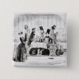Herr guppys underhållning standard kanpp fyrkantig 5.1 cm