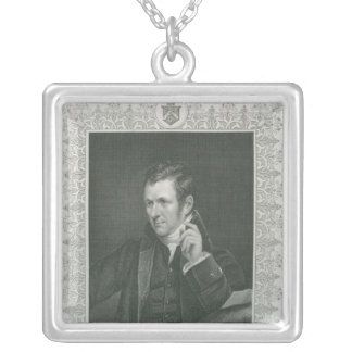 Herr Humphry Davy Silverpläterat Halsband