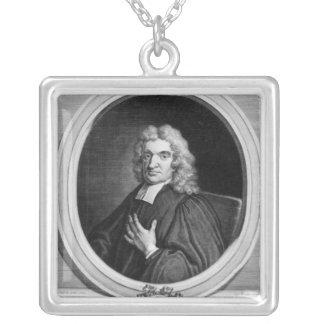 Herr John Flamsteed som inristas av George Vertue Silverpläterat Halsband