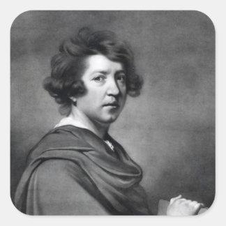 Herr Joshua Reynolds Fyrkantigt Klistermärke
