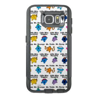 Herr manar & lite Fröcken | teckennamn OtterBox Samsung Galaxy S6 Skal
