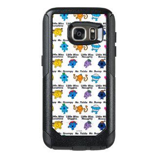 Herr manar & lite Fröcken | teckennamn OtterBox Samsung Galaxy S7 Skal