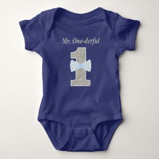 Herr ONE-derful babyJersey Bodysuit, Herr Tee Shirts