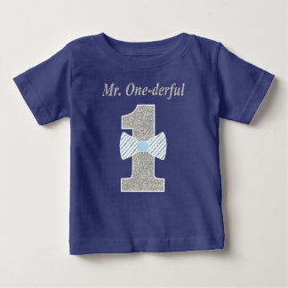 Herr ONE-derful småbarnT-tröja, Herr Onederful T Shirt