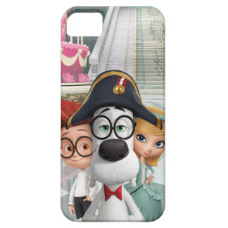Herr Peabody & Sherman i frankriken Barely There iPhone 5 Fodral