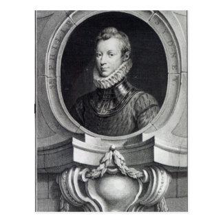 Herr Philip Sidney Vykort