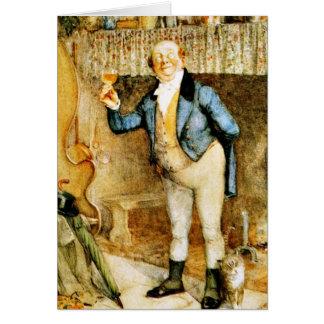 Herr Pickwick föreslår en rostat bröd av franka Hälsningskort