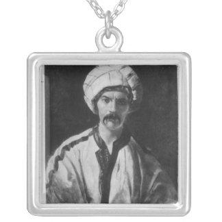 Herr Richard Burton Silverpläterat Halsband