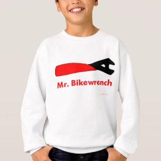 Herr röda Bikewrench Tröjor