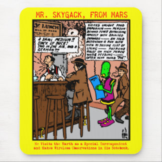 Herr Skygack besöker en middag Musmatta