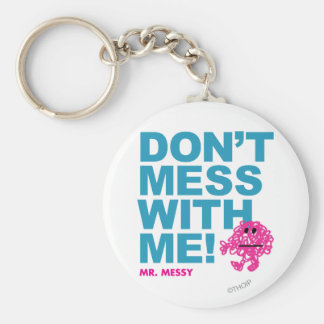 Herr smutsig | rörar inte med mig rund nyckelring
