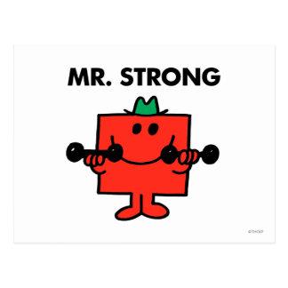 Herr stark | som lyfter, väger vykort
