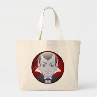 Herr vampyr tote bags