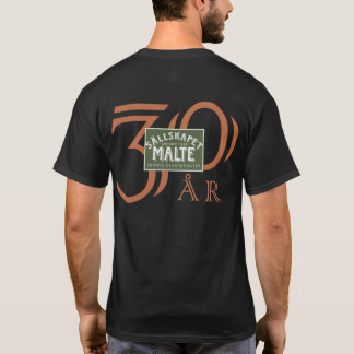 Herrtröja Sällskapet Malte 30 år T Shirt