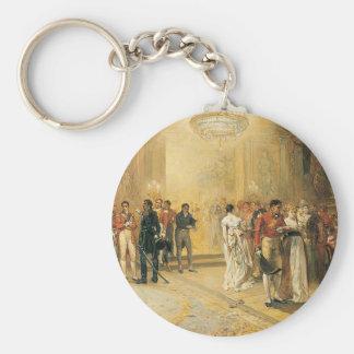 Hertiginnan av Richmonds boll i 1815 Rund Nyckelring