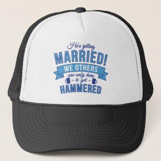 Hes gifta sig - vi andra får bultade truckerkeps