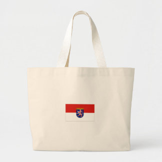 Hessen Tysklandflagga Tygkasse