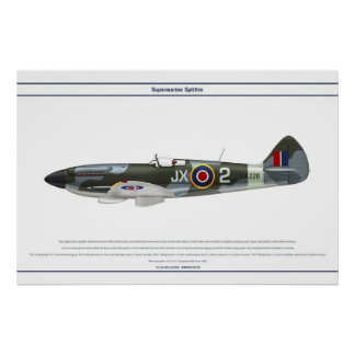 Hetlevrad person GB 1 Sqn 1 Poster