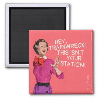 Hey är tåghaverit, detta inte din station