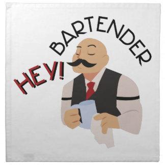 Hey! Bartender Tygservett