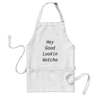 Hey bra Lookin Watcha har Cookin Förkläde
