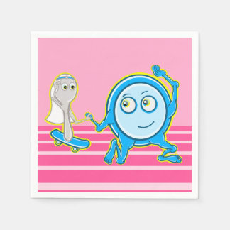 Hey Diddle Diddle barnkammarerimdesignen för Servett