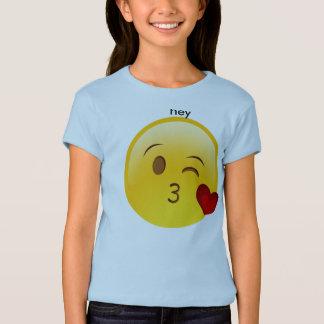 hey emoji tee shirt