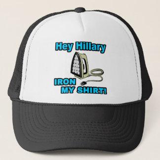 Hey Hillary… järn min skjorta! Truckerkeps