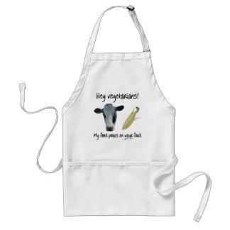 Hey vegetarian! förkläde