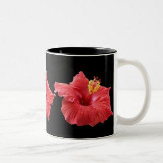 hibiskus Två-Tonad mugg