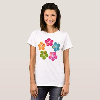 Hibiskusblommor Tee Shirt