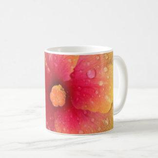 Hibiskusmugg (slutet upp) kaffemugg