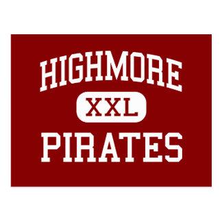 Highmore - pirater - kick - Highmore South Dakota Vykort