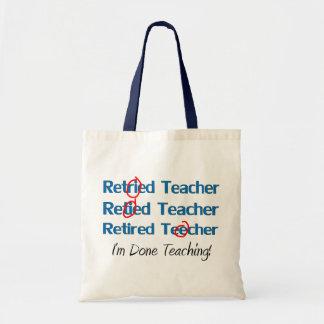 Hilarous avgick läraregåvor tote bag