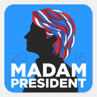 """Hillary 2016: Klistermärke """"för"""