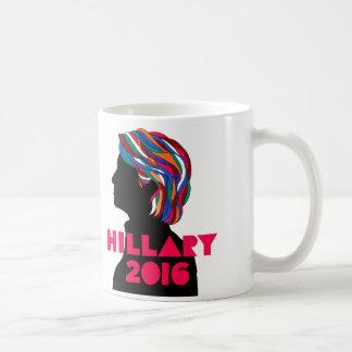 Hillary 2016: Retro designkaffemugg Kaffemugg