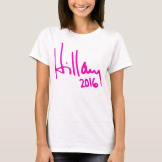 """HILLARY 2016"", T SHIRTS"