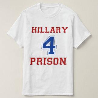 Hillary 4 fängelse (siddubbelt) t shirts