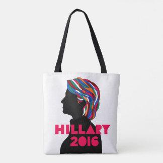 Hillary Clinton 2016 återvinningsbara toto hänger Tygkasse