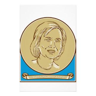 Hillary Clinton demokratkandidat 2016 Brevpapper