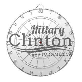 Hillary Clinton för Amerika Darttavla