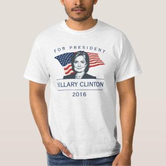 Hillary Clinton för presidenten 2016 Tshirts